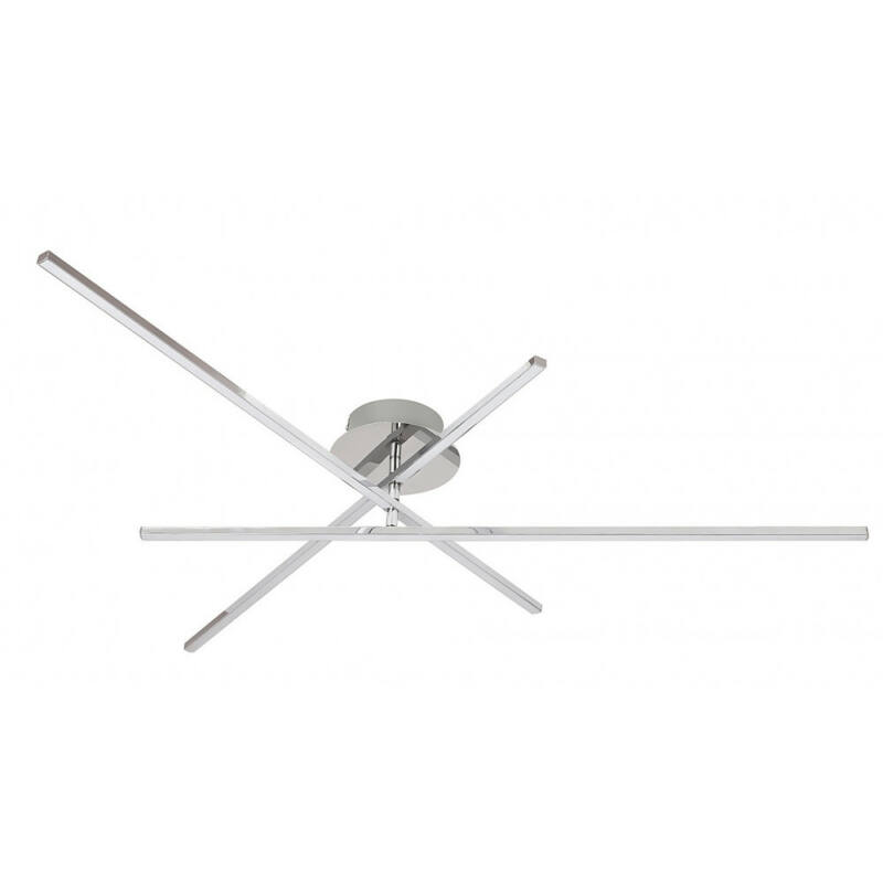 Rábalux Meredith 2479 plafoniere crom metal LED 18 1440 lm 4000 K IP20 A