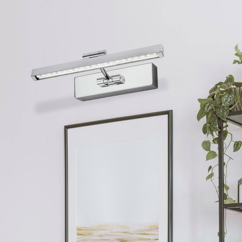Rábalux Picture guard 3640 iluminat tablou crom metal LED 5 300 lm 3000 K IP20 A+